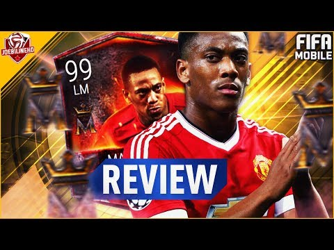 FIFA MOBILE 99 MARTIAL REVIEW #FIFAMOBILE 99 PROGRAM MASTER MARTIAL GAMEPLAY STAT PLAYER REVIEW