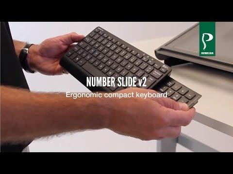 Number Slide Compact Keyboard