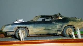 1/24th scale Mad Max 2 Interceptor