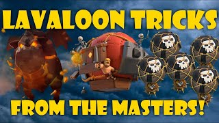 *PRO TRICKS* LAVALOON ATTACK TH10, IMPROVE YOUR AIR ATTACKS!