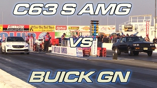 Buick Grand National vs C63S AMG
