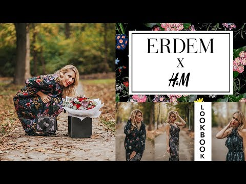 Erdem x H&M LOOKBOOK by Anastasija Stasha / Fashion Video