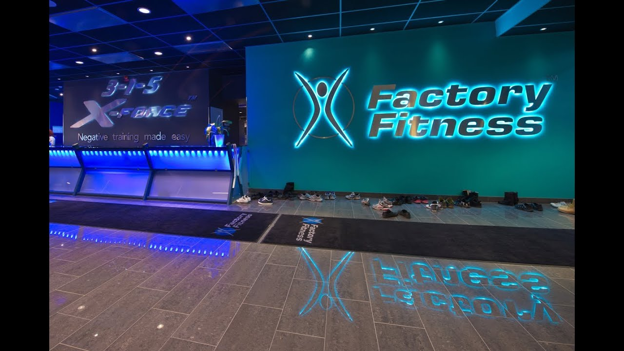 factory fitness norrköping