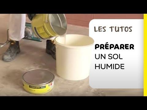 Pr paration sols humides tutoriel avec le primaire poxy youtube - Weber prim ad ...