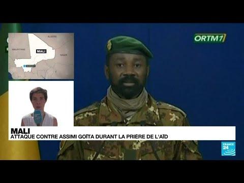 Mali : tentative d'assassinat contre le président par intérim • FRANCE 24