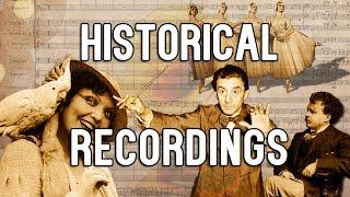 Исторические записи начала 20 века