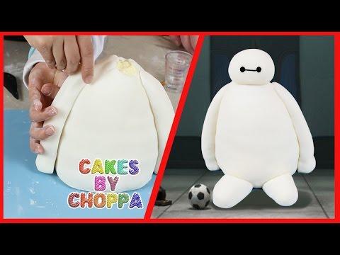 How To Make Big Hero  Baymax Cake Topper