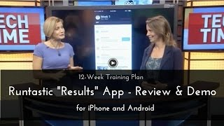 runtastic Results App - Review & Demo -12 Week Total Body Workout Plan