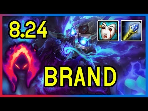 PRESEASON 8.24 DARK HARVEST BRAND SUPPORT - League of Legends