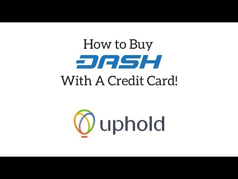 How To Buy Dash With A Credit Card!