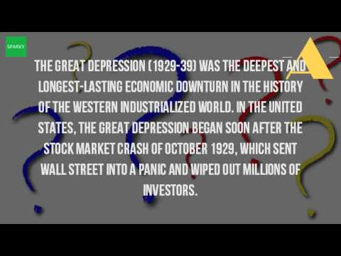 What Event Caused The Great Depression? - YouTube