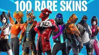 Fortnite All RARE Skins (Season 1 to 9)