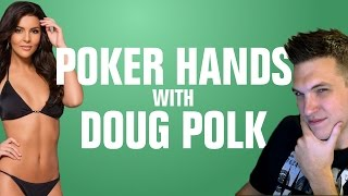 Poker Hands With Doug Polk - Ms. Finland vs. Ronnie Bardah