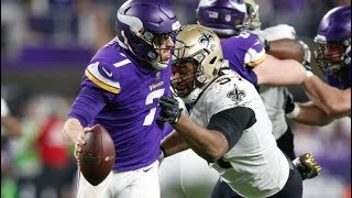 Vikings beat Saints with an epic comeback!