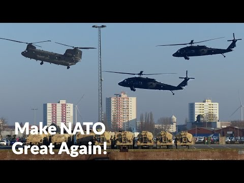 US ARMY HELICOPTERS enter Bremerhaven for Mission ATLANTIC RESOLVE