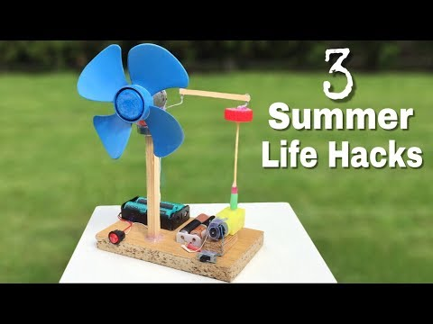 Thumbnail: 3 incredible ideas and Life Hacks for Summer