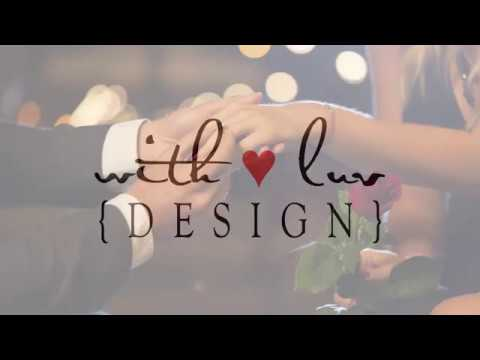 With Luv Design - Wedding Invitations
