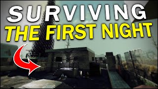 SURVIVING the FIRST NIGHT! - 7 Days to Die #1