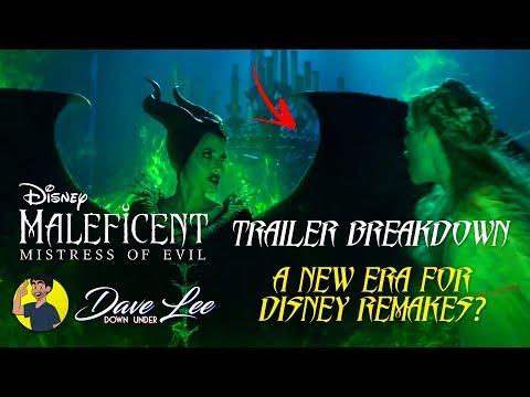 MALEFICENT: MISTRESS OF EVIL - Teaser Trailer Breakdown: A New Era For Disney Remakes?