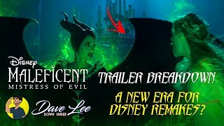 MALEFICENT: MISTRESS OF EVIL - Teaser Trailer Breakdown: A New Era For Disney Remakes?