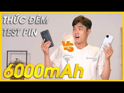 Thử thách TEST PIN Redmi 9T vs Realme C15: Ai trâu hơn ???