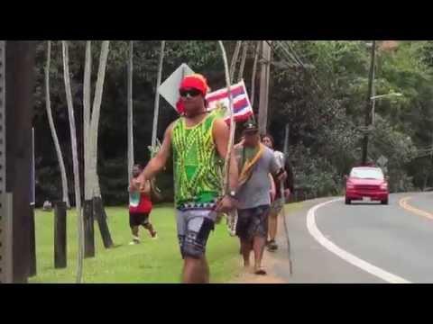Hawaiian Independence Day March Nov 26, 2014