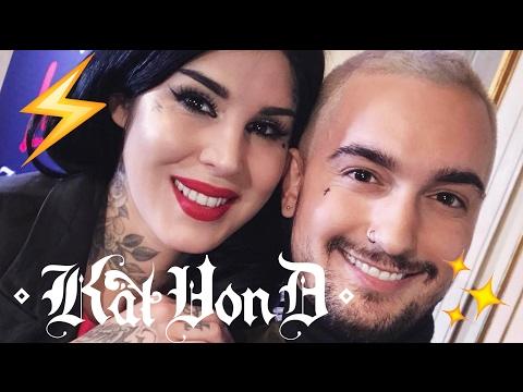 KAT VON D IN ITALIA!! ⚡️ EVENTO + LA MIA INTERVIEW (SUB) VLOG | Vlog MrDanielmakeup