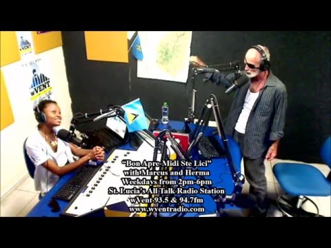 """""""Bon Apre-Midi Ste Lici"""" with Marcus and Herma (Wed 9th March) 2016"""