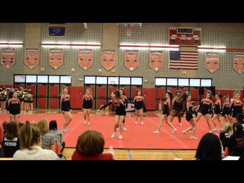 Mohonasen Varsity Cheerleading from 2-14-15 at Guilderland High School
