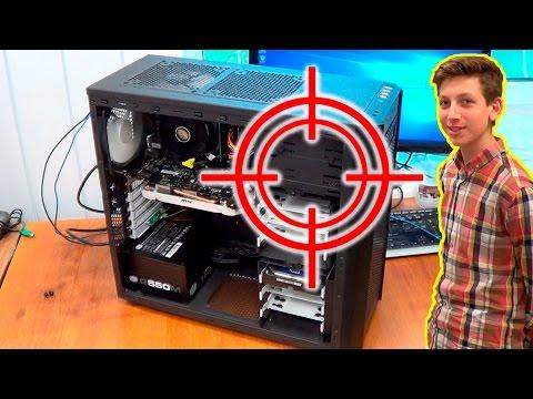 Под прицелом. Компьютер для Владика. i5-6500 + GTX 960 4 Гб.