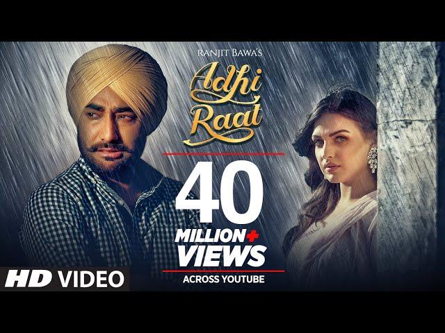 आधी रात - Adhi Raat Lyrics in English & Hindi – Ranjit