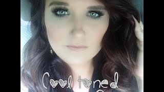 Cool Toned Smokey Eye Talk Thru | KayleeLynBeauty