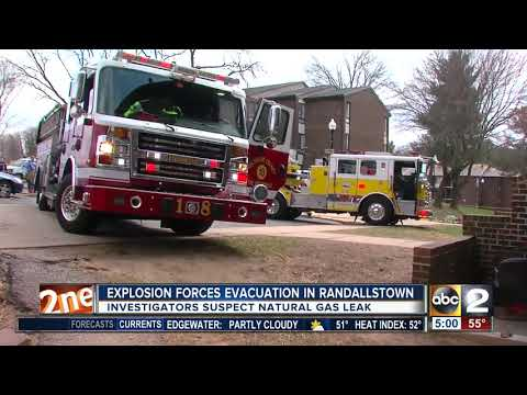 Explosion forces evacuation in Randallstown