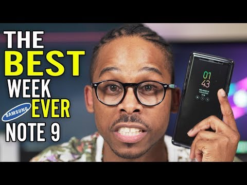 Samsung Galaxy Note 9 Review 1 Week Later
