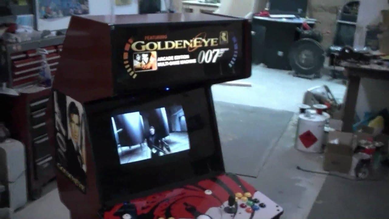 how to make a tabletop arcade machine