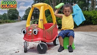 My Car Is Dirty! (Car Wash Nursery Rhyme Song and More!)