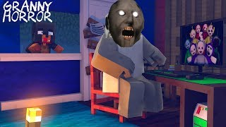 Minecraft - SCARY GRANNY GAME WANTS TO DESTROY ALL OTHER GAMES