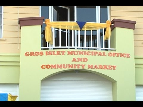 Gros Islet Market & Municipal Office