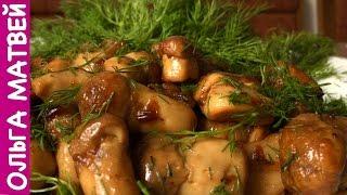Белые Грибы,  Вкусный Рецепт | Fried Mushrooms Recipe