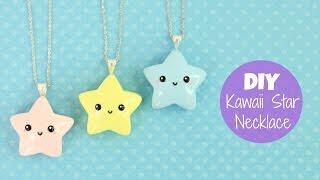 DIY Kawaii Star Necklace Charm