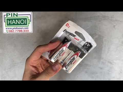 Bộ 2 pin đại Energizer Max size D 1.5v