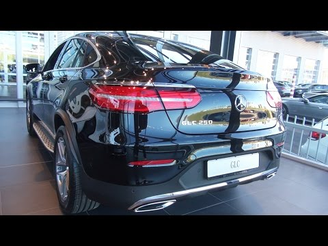 Mercedes GLC Coupe NEW 2017 2016 Review AMG Interior Exterior Benz Coupé