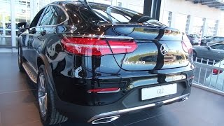 Mercedes GLC Coupe NEW 2017 2016 Review AMG Interior Exterior Benz Coupé(, 2016-09-23T22:50:43.000Z)