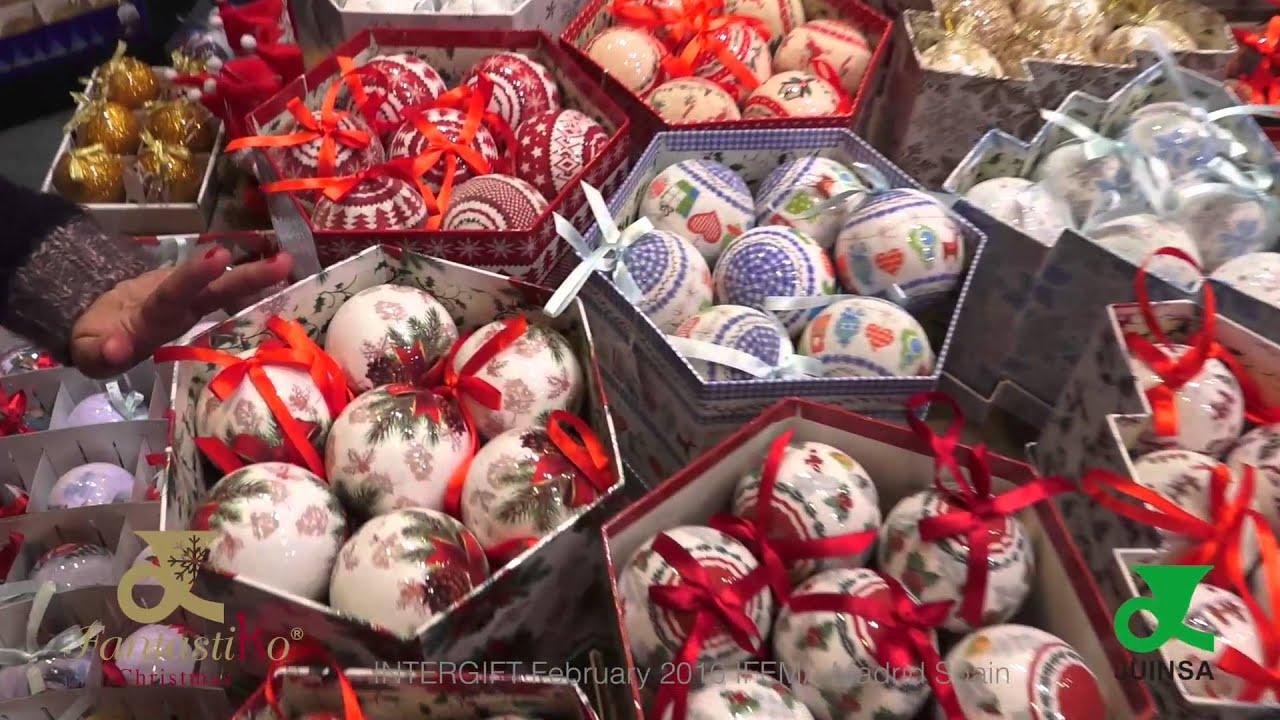 Decoraci n navidad juinsa feria intergift 3 al 7 de for Feria decoracion madrid