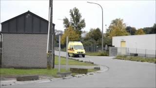 SRI Charleroi : vehicule desincarceration + ambulance