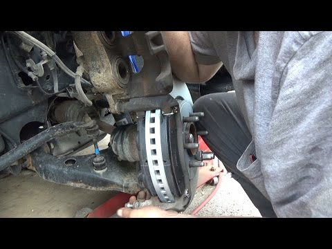 Complete front brake job on a 2013 f150 and some packages from the mail