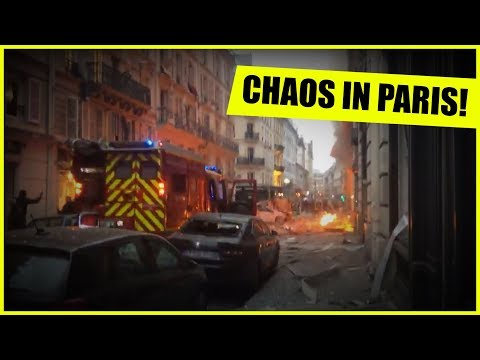 HUGE EXPLOSIONS IN PARIS! LIVE ON THE SCENE!