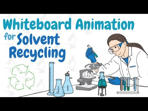 Whiteboard Animation for Solvent Recycling | Video Production Company Reading Berkshire