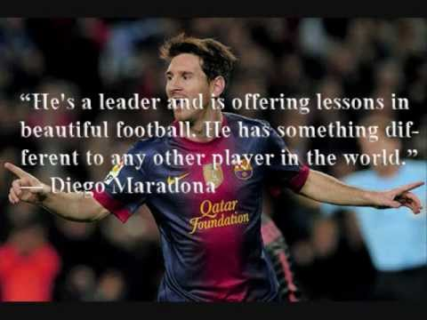 Amazing Lionel Messi 2013 New Best Quotes, Lionel Messi 2013 The Best Player In The  World!