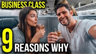 THE BENEFITS OF FLYING BUSINESS CLASS ✈️ 💺